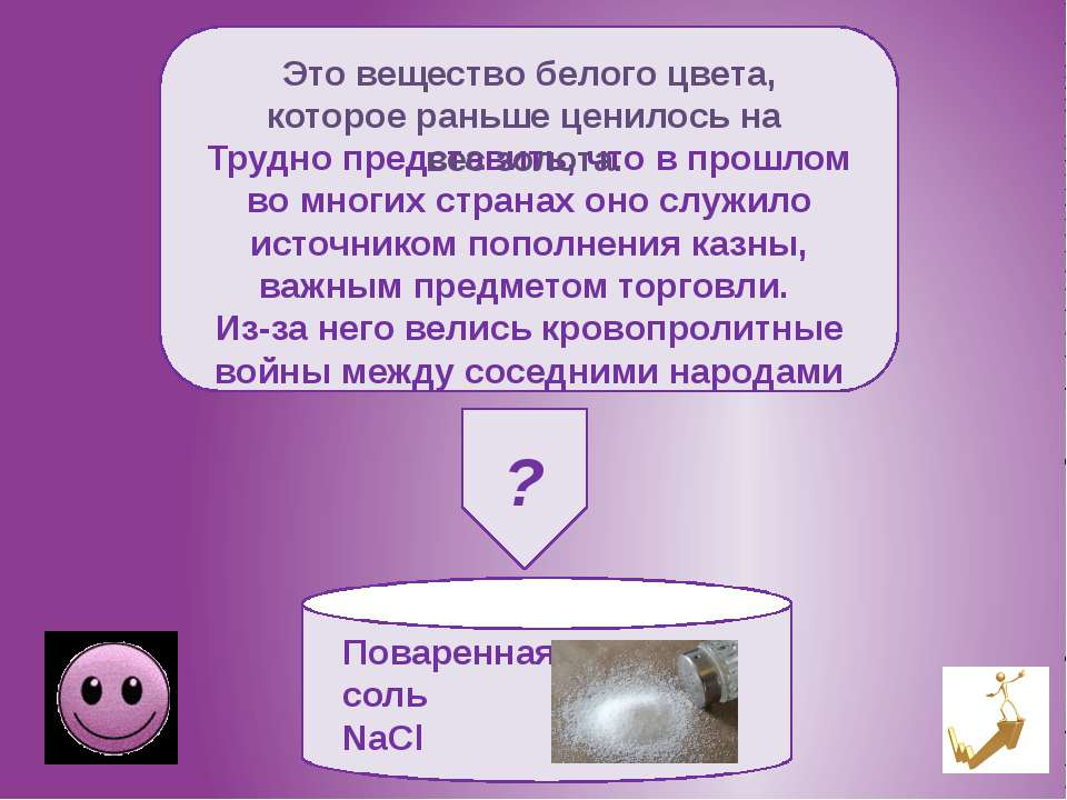Пищевая сода –гидрокарбонат натрия NaHCO3 Это вещество белого цвета является ...
