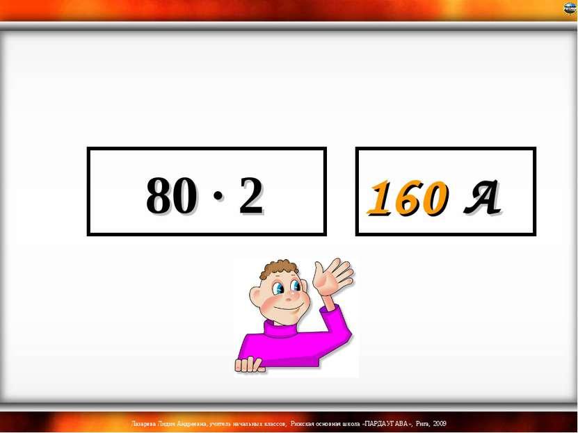 80 · 2 160 А Лазарева Лидия Андреевна, учитель начальных классов, Рижская осн...