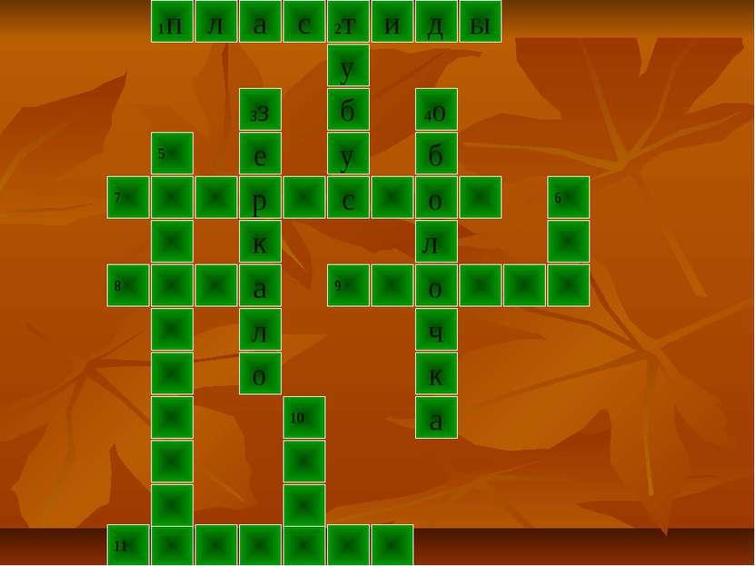 1п д ы л 2т с а и 3з е к р о 7 с 5 л о а 8 9 к 4о у б у о б ч л 11 10 6 а