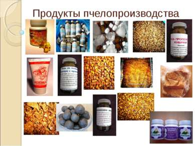Продукты пчелопроизводства