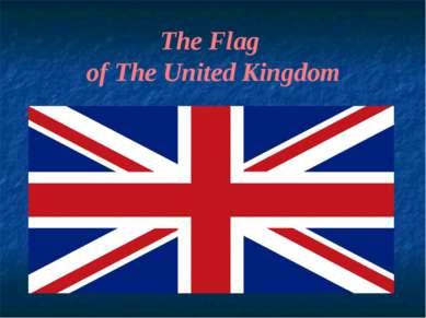 The Flag of The United Kingdom