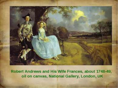 Robert Andrews and His Wife Frances, about 1748-49, oil on canvas, National G...