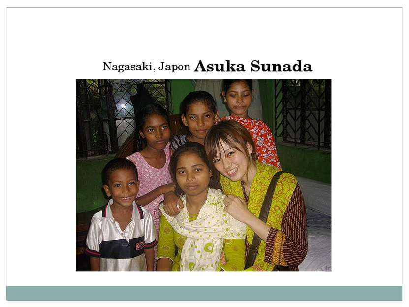 Nagasaki, Japon Asuka Sunada