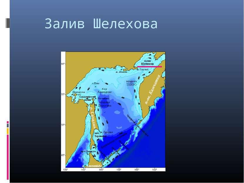 Залив Шелехова
