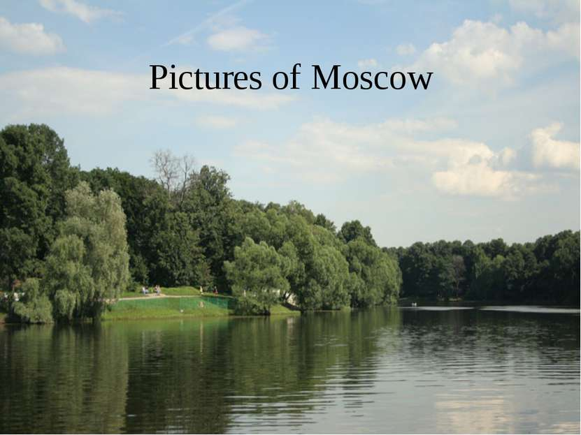 Pictures of Moscow