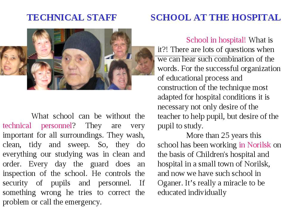 SCHOOL AT THE HOSPITAL School in hospital! What is it?! There are lots of que...