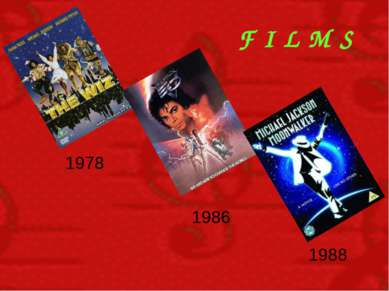 F I L M S 1978 1986 1988