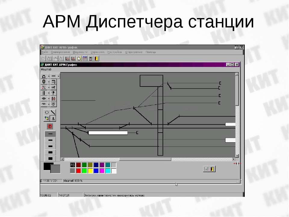 АРМ Диспетчера станции