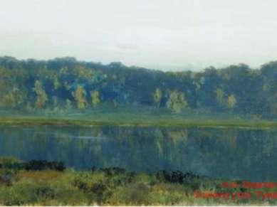И.И. Левитан. Осеннее утро. Туман. 1887