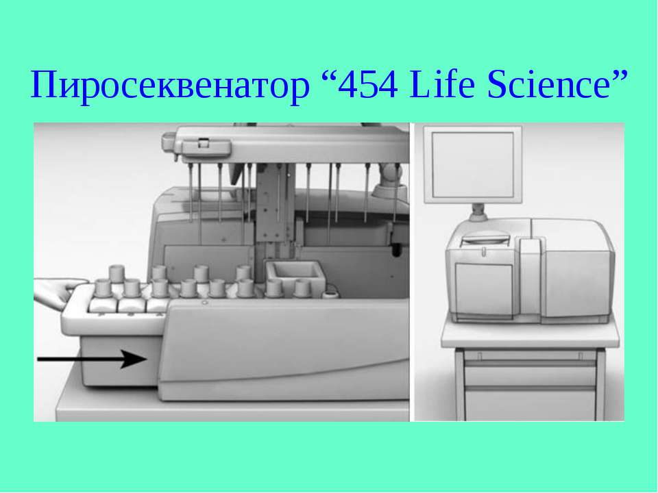 "Пиросеквенатор ""454 Life Science"""