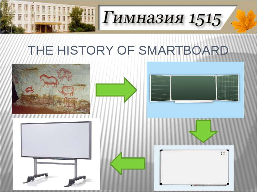 THE HISTORY OF SMARTBOARD