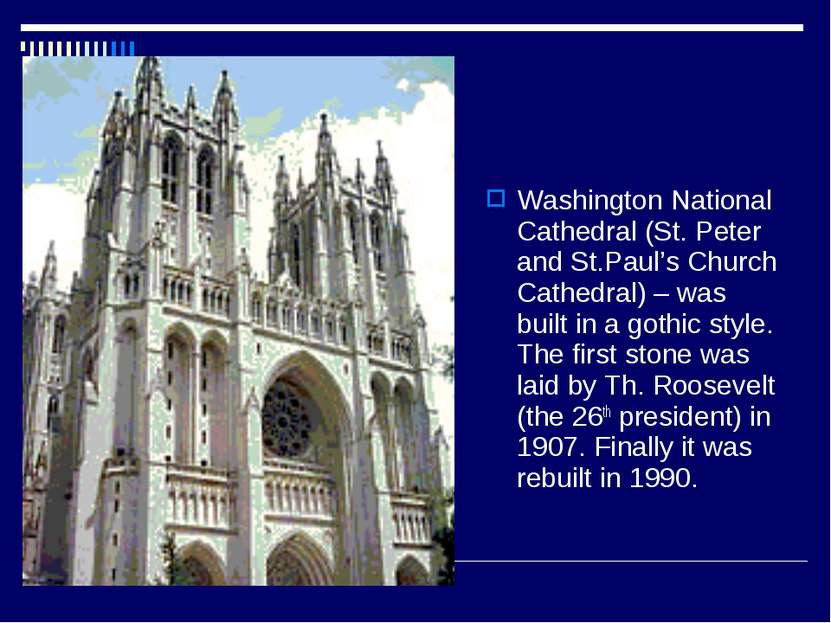 Washington National Cathedral (St. Peter and St.Paul's Church Cathedral) – wa...