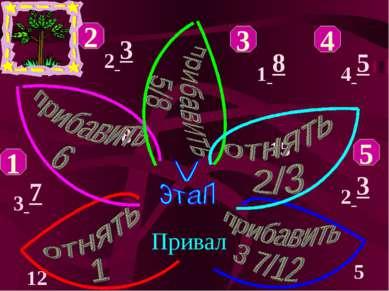 Привал 2 3 8 1 2 3 5 1 8 15 3 7 12 4 5 8 2 4 5 3