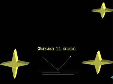 Полное отражение света Физика 11 класс