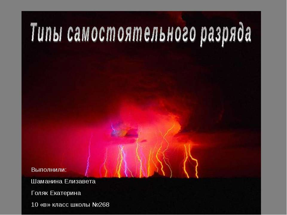 Выполнили: Шаманина Елизавета Голяк Екатерина 10 «в» класс школы №268