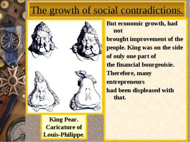 But economic growth, had not brought improvement of the people. King was on t...