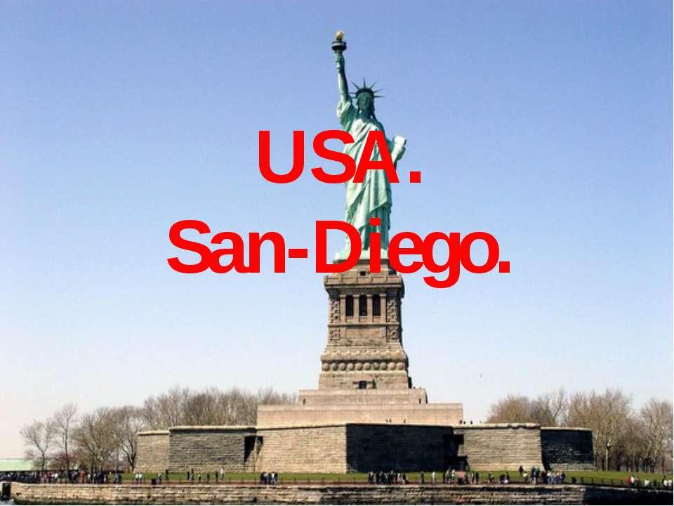 USA. San-Diego.