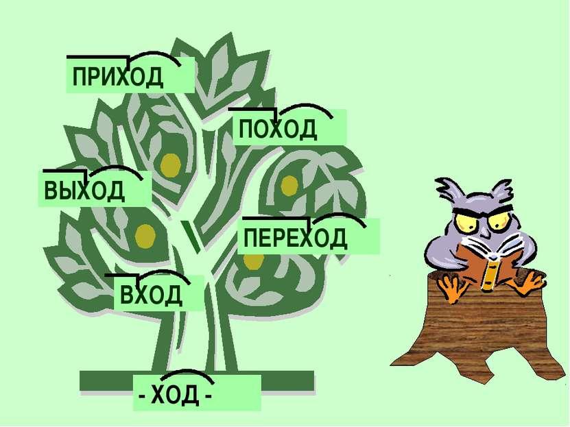- ХОД - ПРИХОД ПОХОД ВЫХОД ПЕРЕХОД ВХОД