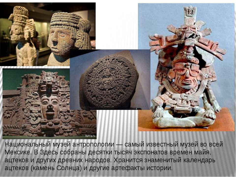 Национальный музей антропологии— самый известный музей во всей Мексике. В Зд...