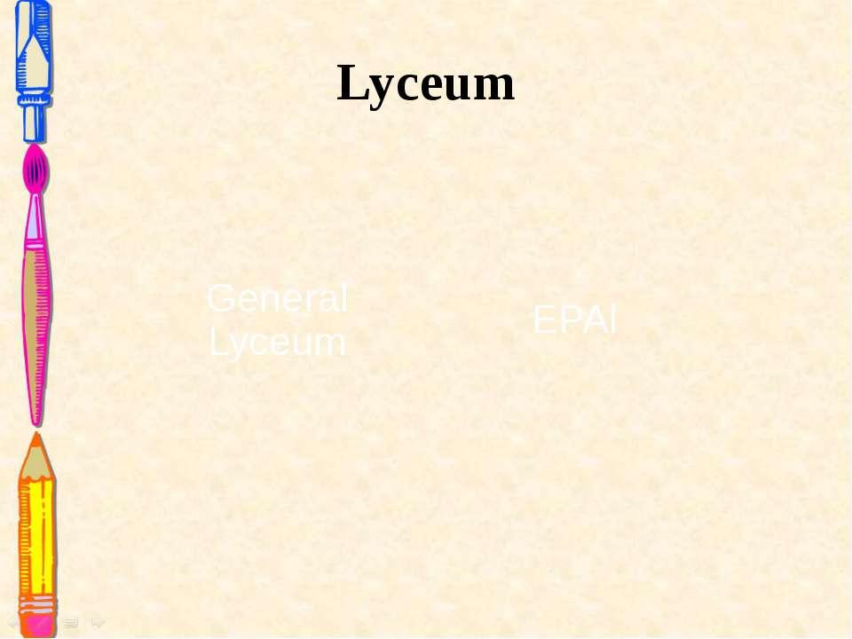 Lyceum