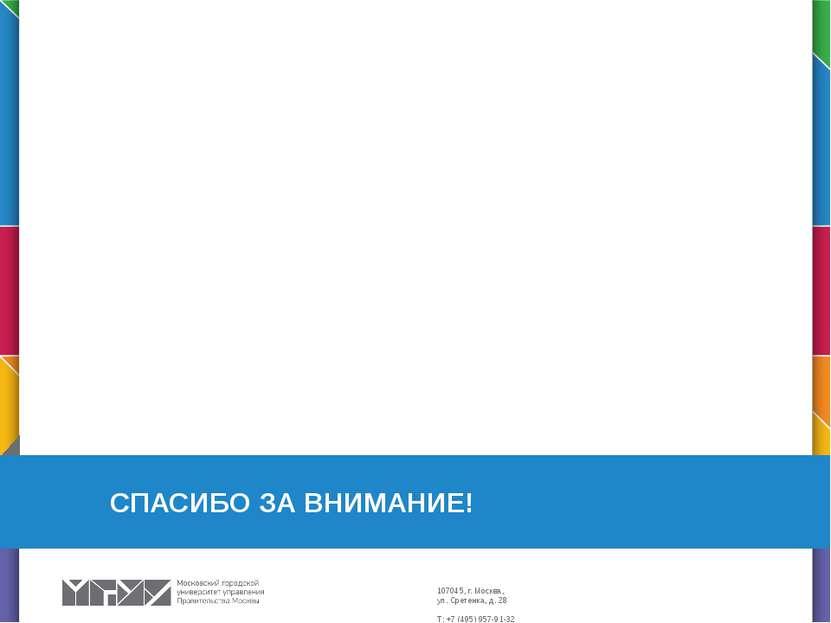 СПАСИБО ЗА ВНИМАНИЕ! Этот слайд можно использовать для разделения тематически...