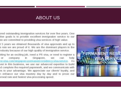 ABOUT US We have offered outstanding immigration services for over five years...