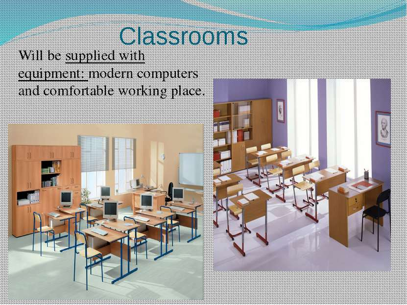 Will be supplied with equipment: modern computers and comfortable working pla...