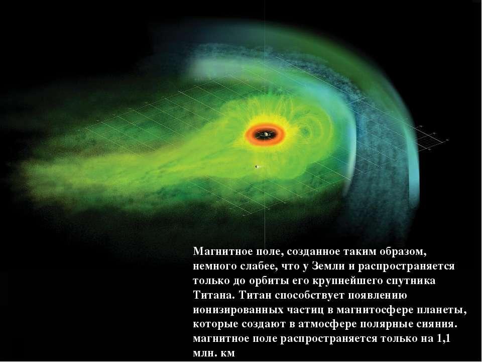 Магнитное поле, созданное таким образом, немного слабее, что у Земли и распро...