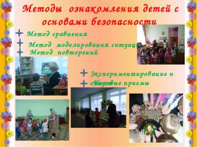 Методы ознакомления детей с основами безопасности Метод сравнения Метод модел...