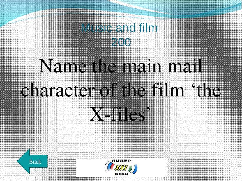 Music and film 300 Name the director of the film 'War and Peace' won the Osca...