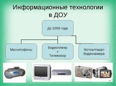 Информационные технологии в ДОУ