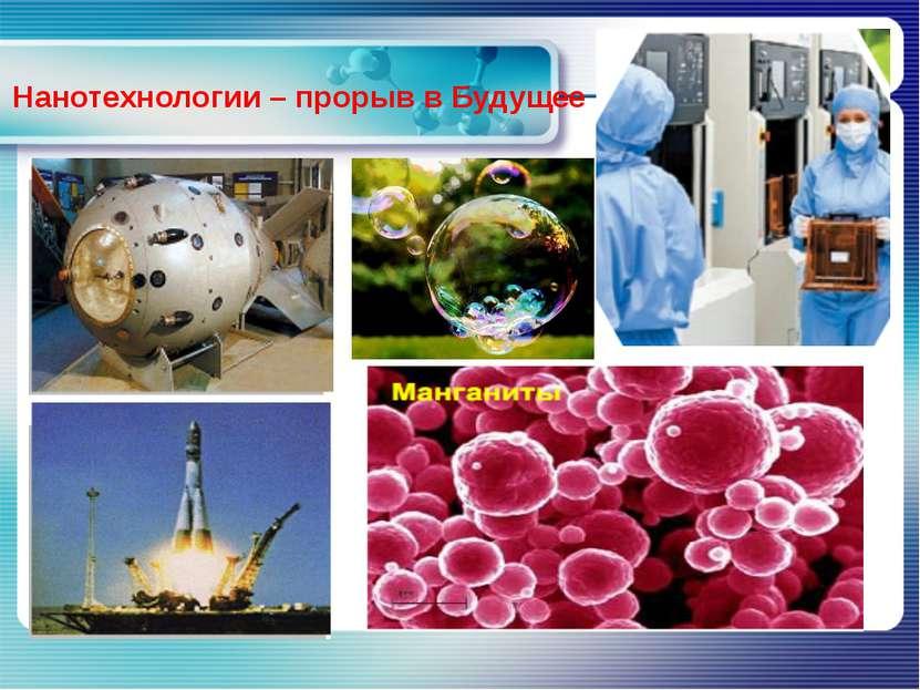www.themegallery.com Нанотехнологии – прорыв в Будущее