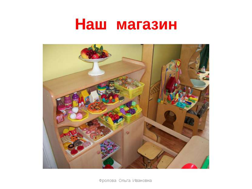Наш магазин Фролова Ольга Ивановна Фролова Ольга Ивановна