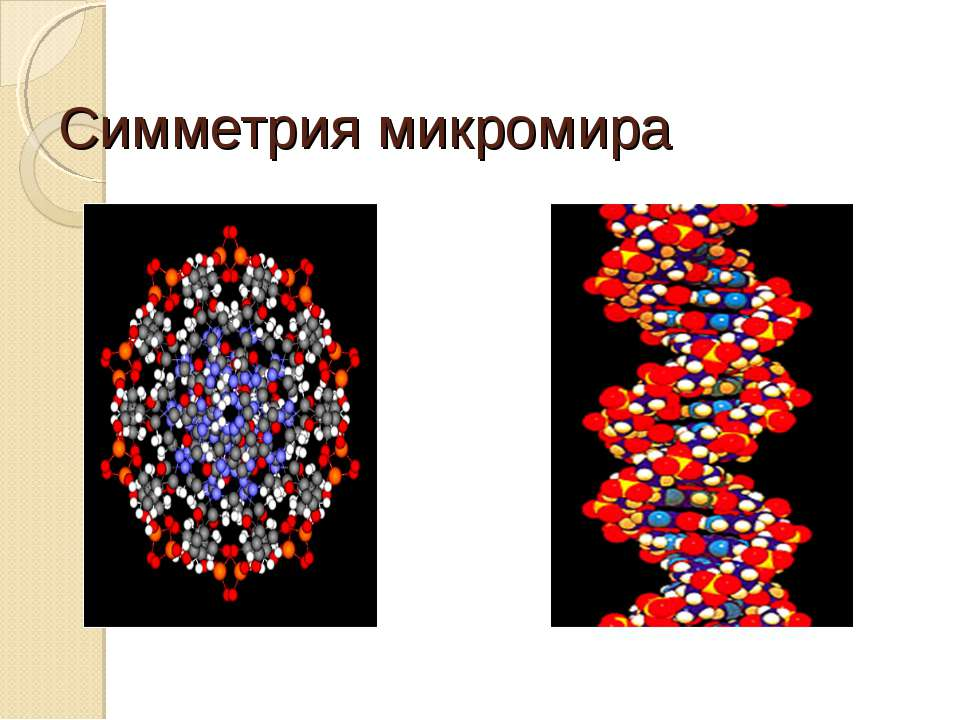 Симметрия микромира