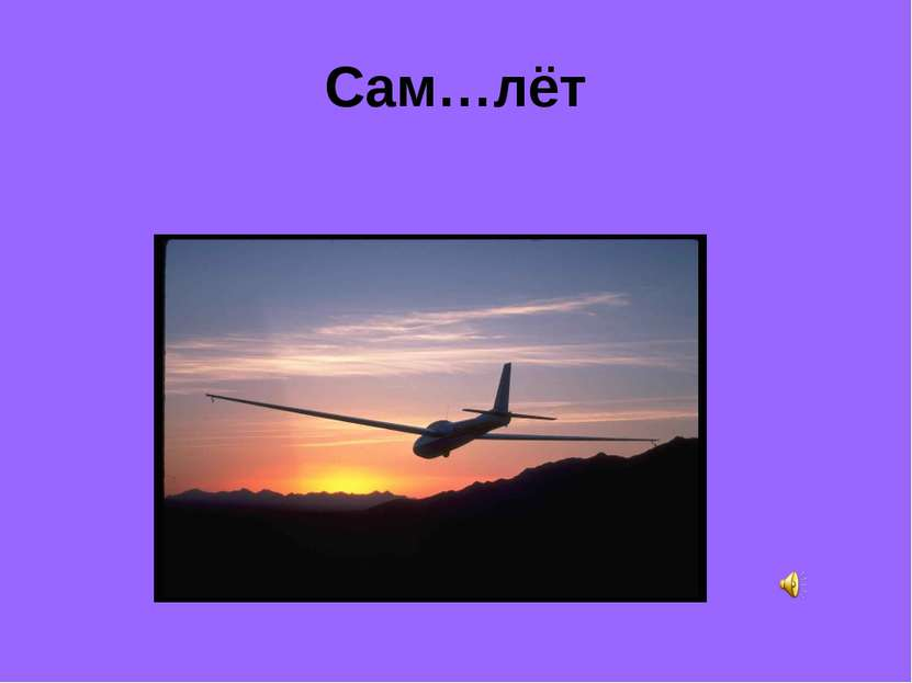 Сам…лёт