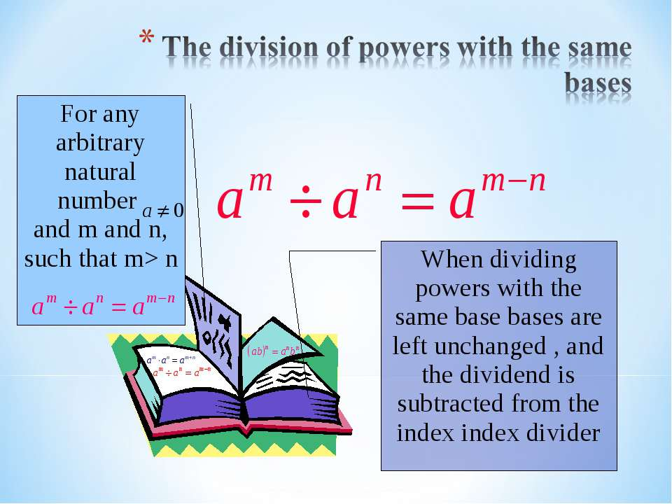 For any arbitrary natural number and m and n, such that m> n When dividing po...