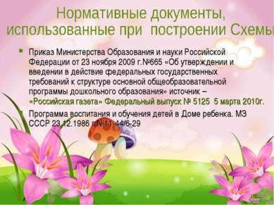 Приказ Министерства Образования и науки Российской Федерации от 23 ноября 200...