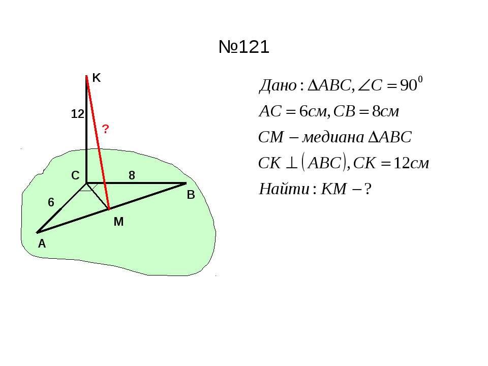 №121 A C B M K ? 6 8 12