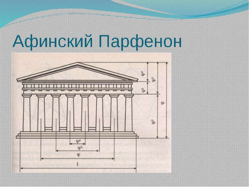 Афинский Парфенон