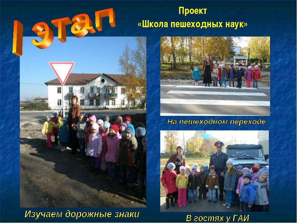 Проект «Школа пешеходных наук»