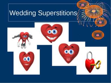 Wedding Superstitions