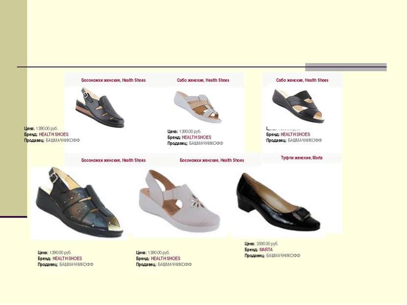 Босоножки женские, Health Shoes  Цена: 139...
