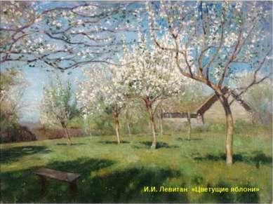 И.И. Левитан «Цветущие яблони»
