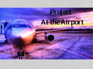 Project At the Airport