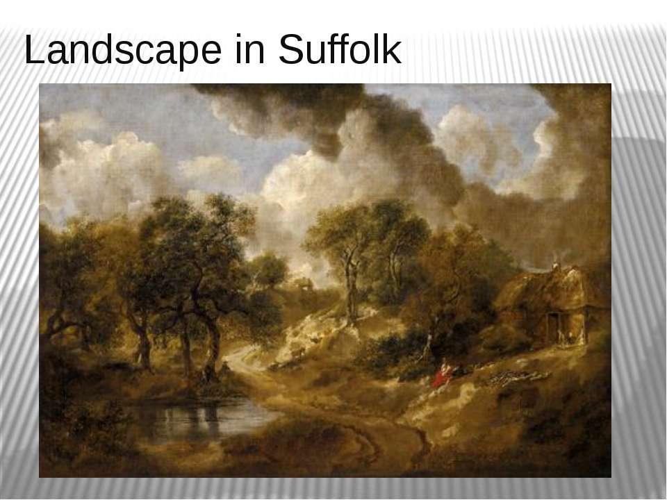 Landscape in Suffolk