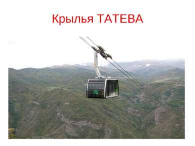 Крылья ТАТЕВА