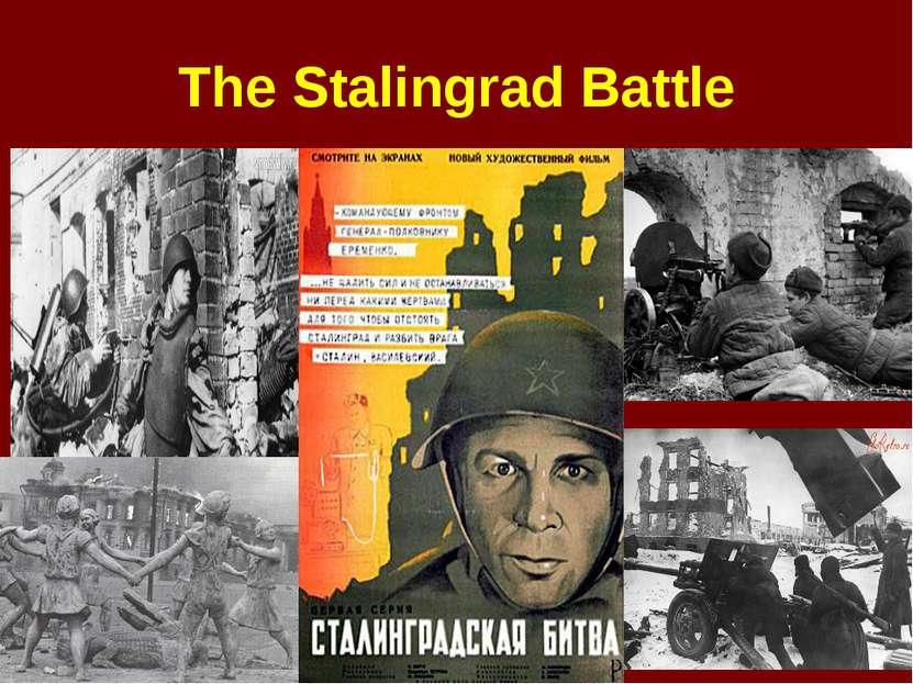 The Stalingrad Battle