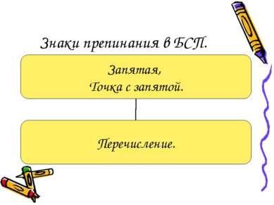 Знаки препинания в БСП.