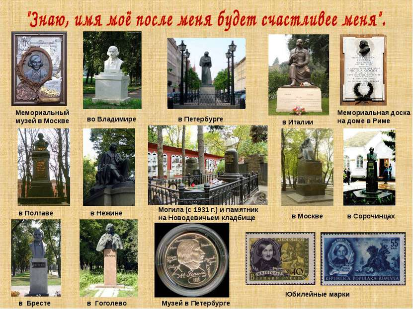 Мемориальный музей в Москве в Петербурге во Владимире в Италии Мемориальная д...