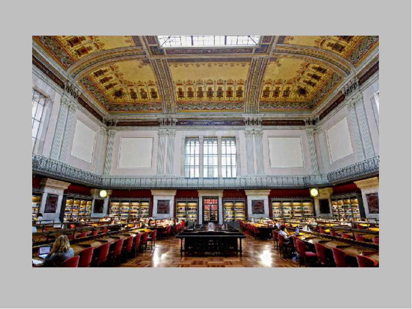 The Museum of the National library of Spain, the former Museum of the book, p...